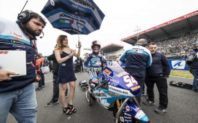 In Francia Rodrigo sfiora il podio