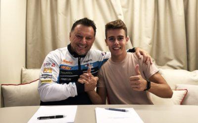 Jeremy Alcoba completes 2020 line-up for team Kömmerling Gresini Moto3