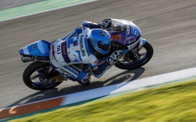 Last Moto3 racing in Valencia