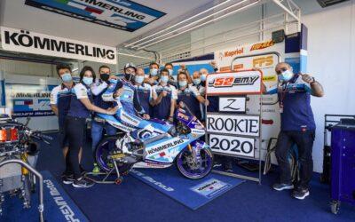 Alcoba è il rookie dell'anno in Moto3