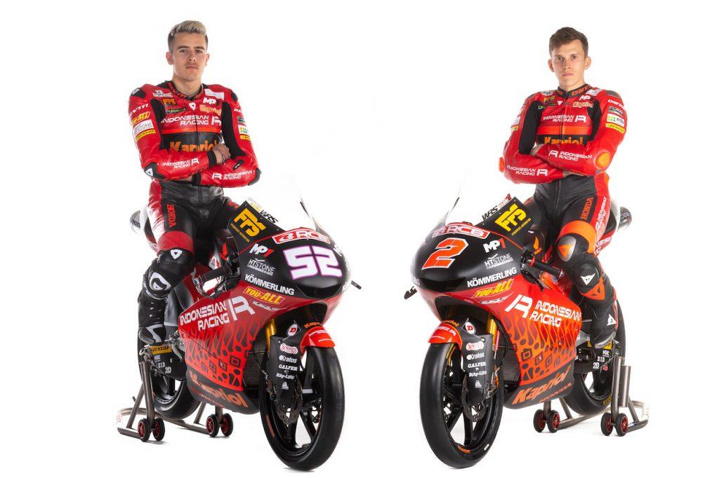 Gresini racing moto3 2021