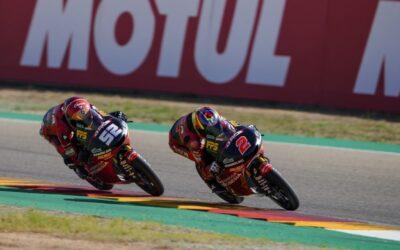 Double DNF for Rodrigo and Alcoba at Aragon